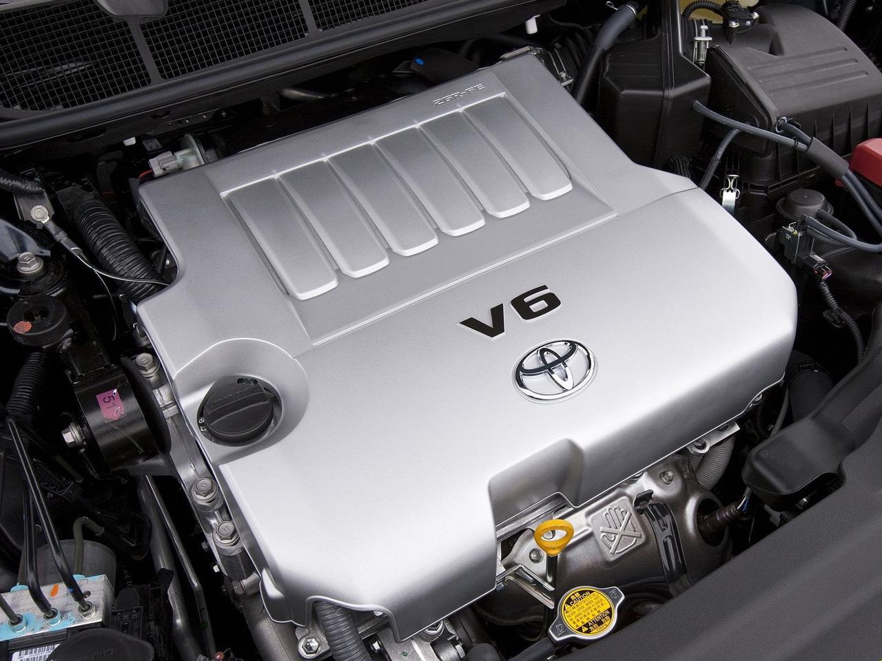 toyota venza v6 oil capacity