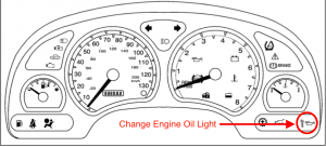 Change Engine Oil Light