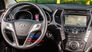 2013 Hyundai Santa Fe Steering Wheel Controls