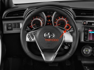 2014 Scion tC Trip/ODO button