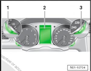 VW Instrument Cluster