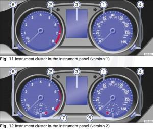 2015 VW Instrument Cluster