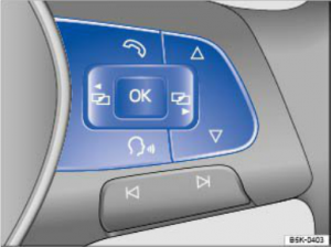 2015 VW Jetta Multi-Function Steering Wheel