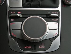 2015 Audi A3 MMI Controls