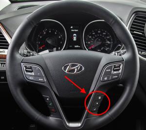2015 Hyundai Santa Fe Controls
