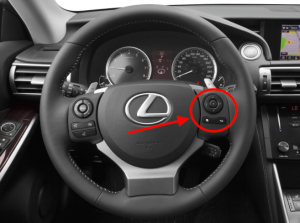 2015 Lexus IS 250 Steering Wheel Controls