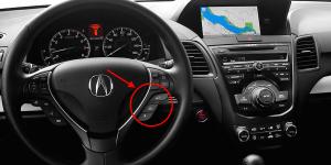 2015 Acura RDX Controls