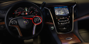 2015 Cadillac Escalade Steering Wheel Controls