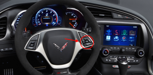 2015 Chevrolet Corvette Steering Wheel Controls