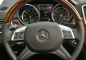 2015 Mercedes M Class Steering Wheel