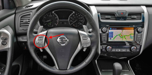 2015 Nissan Altima Steering Wheel Controls