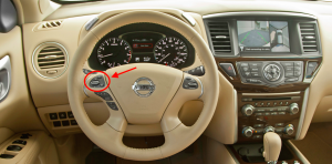2015 Nissan Pathfinder Steering Wheel Controls