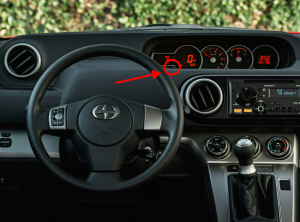 2015 Scion xB Trip/ODO Button