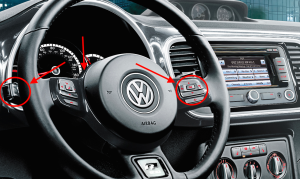 2015 VW Beetle Controls
