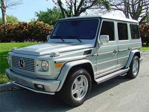 2003 Mercedes G Class