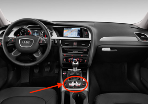 2016 Audi A4 Car Button