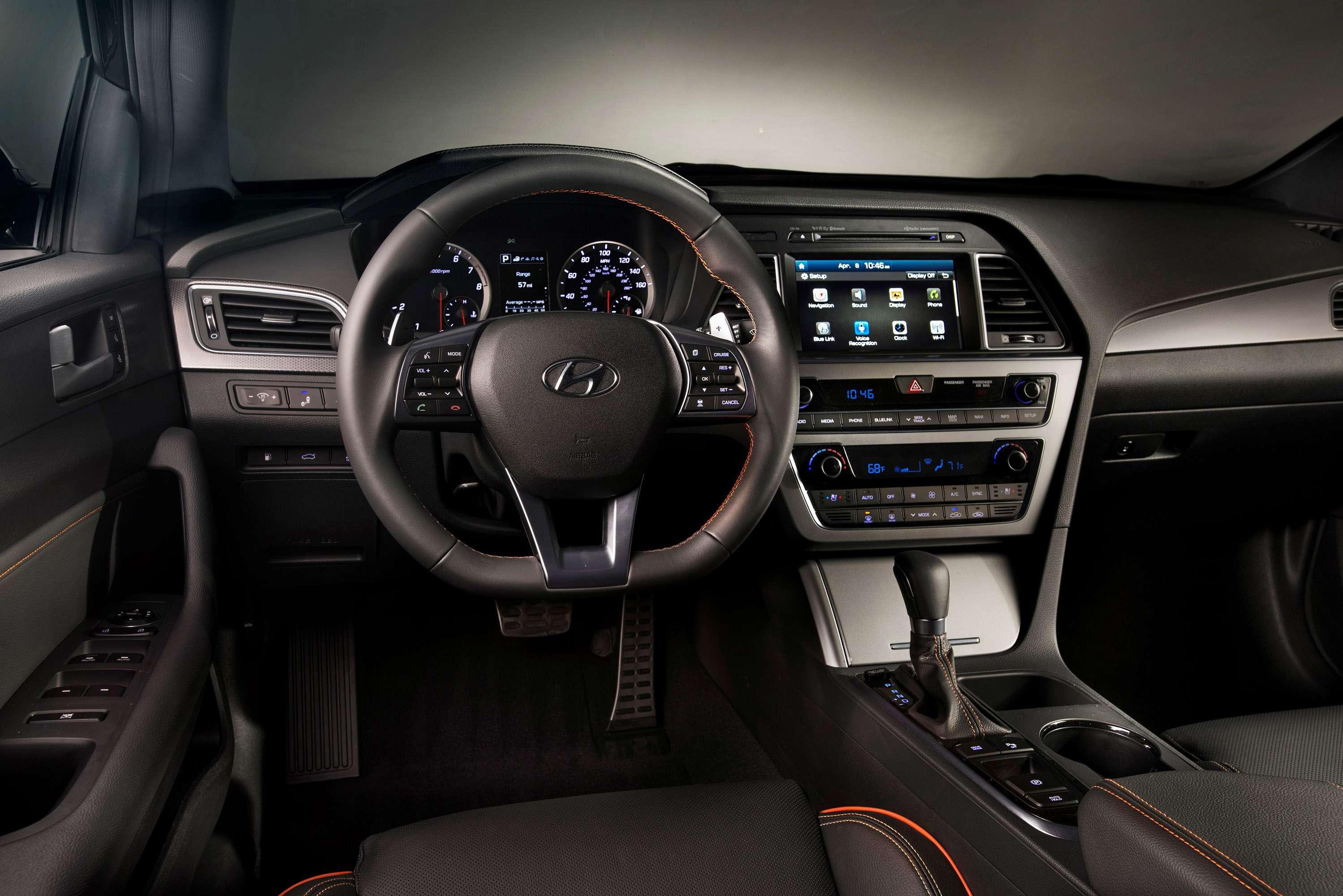 Oil Reset Blog Archive 2016 Hyundai Sonata Interior