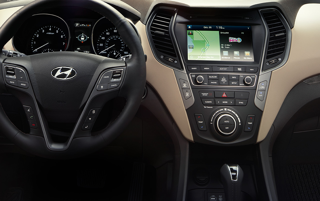 2016 Hyundai Santa Fe Interior Photo