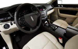 2016 Lincoln MKS Interior