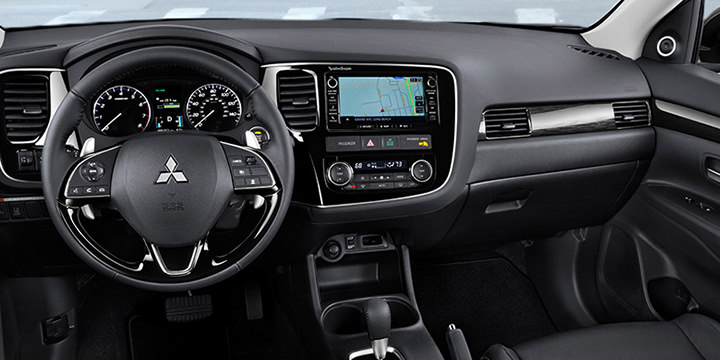 Mitsubishi outlander interior pictures for Mitsubishi outlander interior dimensions