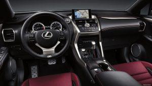 2016 Lexus NX 200t Interior