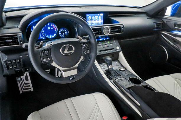 2016 is350 interior