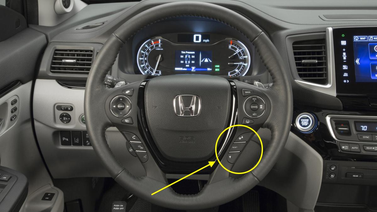 Oil Reset » Blog Archive » 2016 Honda Pilot Maintenance ...