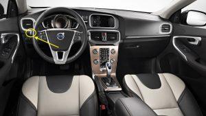 2016 Volvo V60 Cross Country Interior
