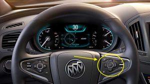 2017 Buick Regal Steering Wheel Controls