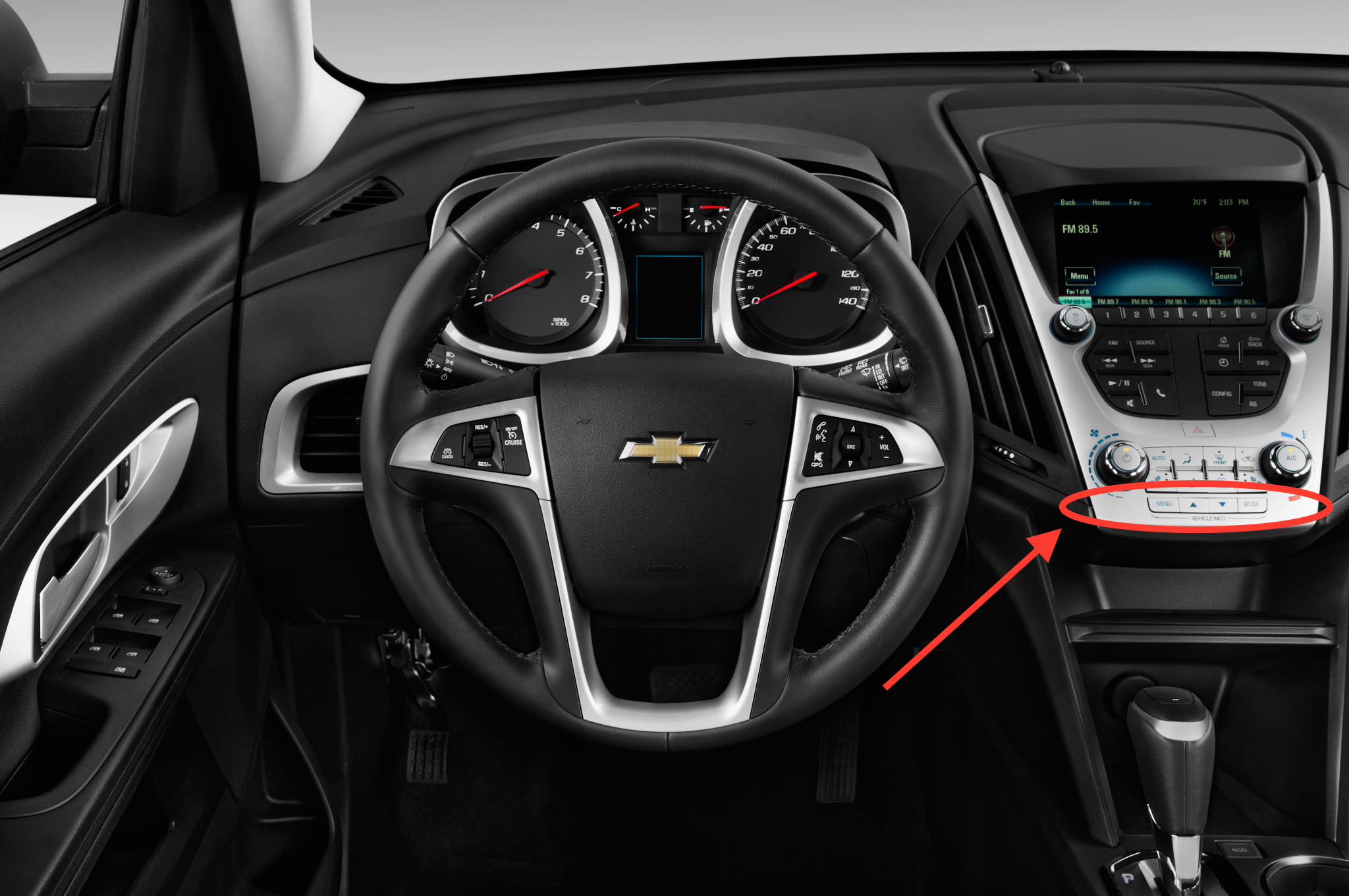 2017 Chevy Equinox Interior