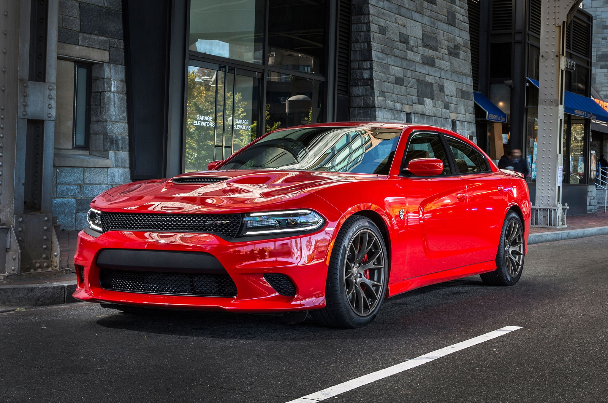 2018 Dodge Charger Srt8 Red
