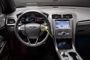 2017 Ford Fusion Controls