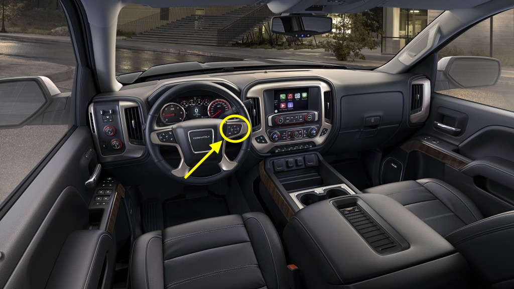 Oil Reset » Blog Archive » 2017 GMC Sierra Steering Wheel ...