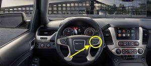 2017 GMC Yukon Denali Steering Wheel Controls