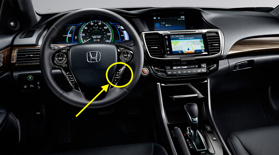 2017 Honda Accord Steering Wheel Controls