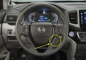 2017 Honda Pilot Steering Wheel Controls
