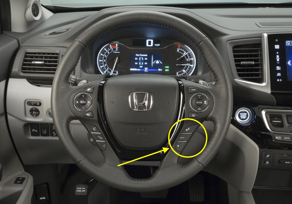 oil reset blog archive  honda pilot steering wheel controls