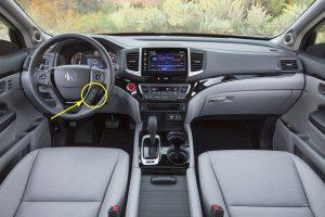 2017 Honda Ridgeline Steering Wheel Controls