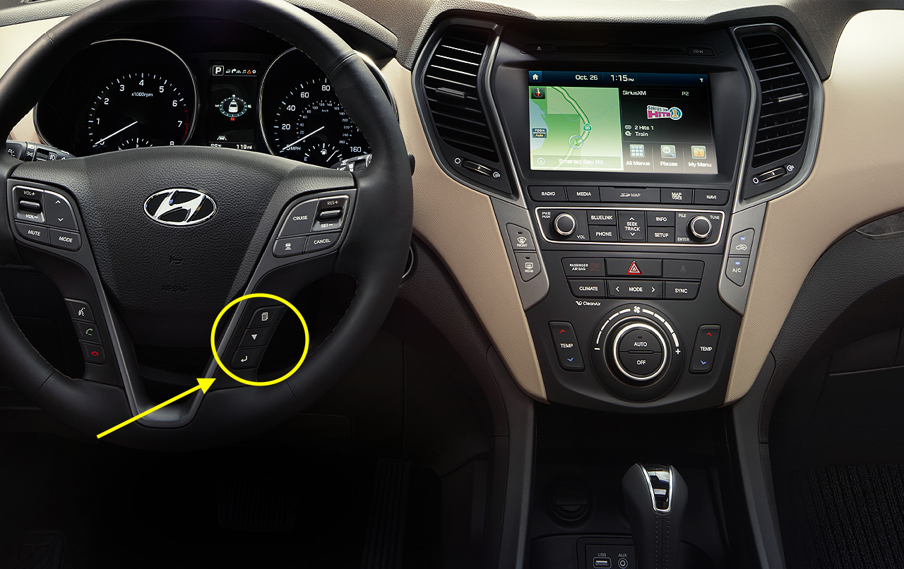 Hyundai Santa Fe Steering Wheel Controls on Hyundai Santa Fe Oil Change