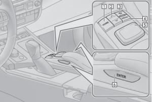 2017 Lexus ES-Series Remote Touch