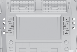 2017 Lexus GX460 Controls
