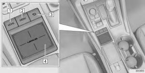 2017 Lexus NX Remote Touch